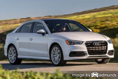 Insurance rates Audi A3 in San Jose