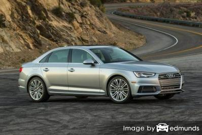 Insurance quote for Audi A4 in San Jose