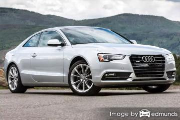 Insurance quote for Audi A5 in San Jose
