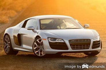 Insurance rates Audi R8 in San Jose