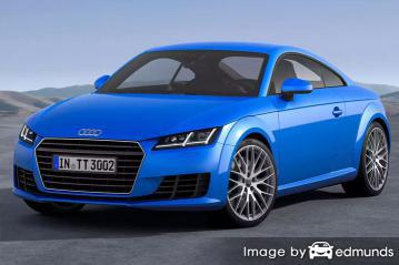 Insurance quote for Audi TTS in San Jose