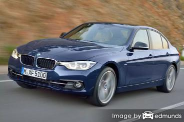 Insurance rates BMW 328i in San Jose