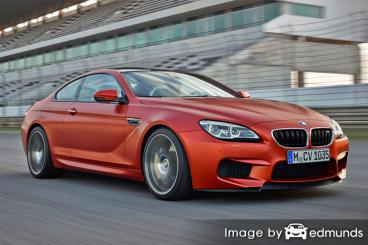 Insurance rates BMW M6 in San Jose