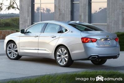 Insurance quote for Chevy Impala in San Jose