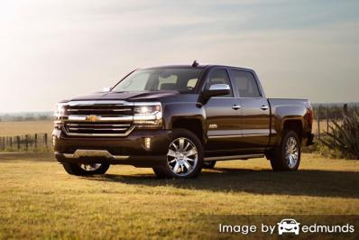 Insurance quote for Chevy Silverado in San Jose