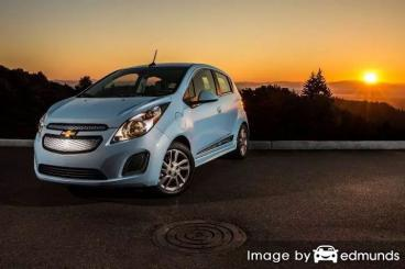 Insurance rates Chevy Spark EV in San Jose