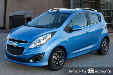 Insurance quote for Chevy Spark in San Jose
