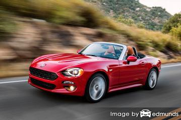 Insurance rates Fiat 124 Spider in San Jose