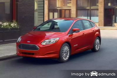 Insurance quote for Ford Focus in San Jose