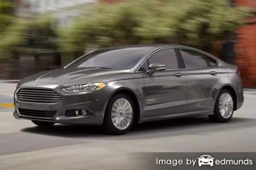 Insurance rates Ford Fusion Hybrid in San Jose