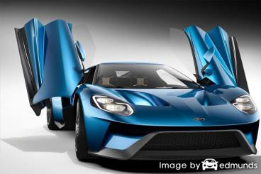 Insurance rates Ford GT in San Jose