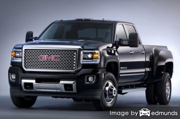 Insurance quote for GMC Sierra 3500HD in San Jose