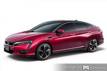 Insurance quote for Honda Clarity in San Jose