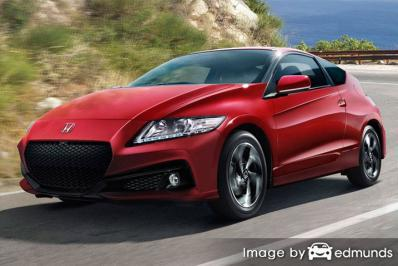 Insurance rates Honda CR-Z in San Jose