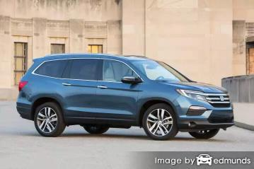 Insurance quote for Honda Pilot in San Jose