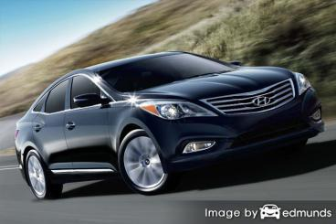 Insurance rates Hyundai Azera in San Jose