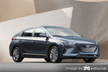 Insurance quote for Hyundai Ioniq in San Jose