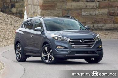 Insurance quote for Hyundai Tucson in San Jose