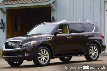 Insurance rates Infiniti QX56 in San Jose