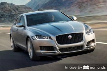 Insurance quote for Jaguar XF in San Jose