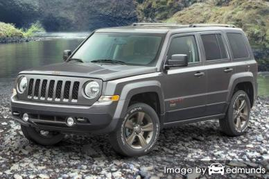 Insurance quote for Jeep Patriot in San Jose