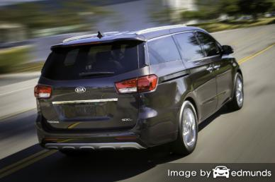 Insurance rates Kia Sedona in San Jose