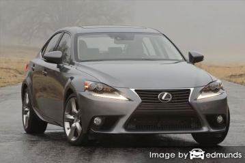 Insurance rates Lexus IS 350 in San Jose