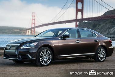 Insurance quote for Lexus LS 600h L in San Jose
