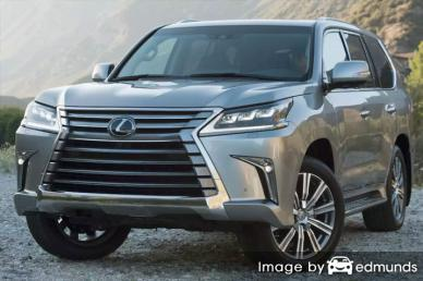 Insurance quote for Lexus LX 570 in San Jose
