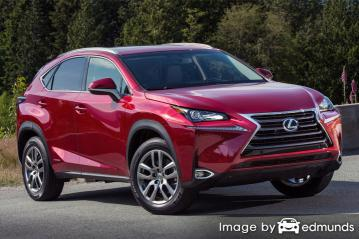 Insurance quote for Lexus NX 300h in San Jose