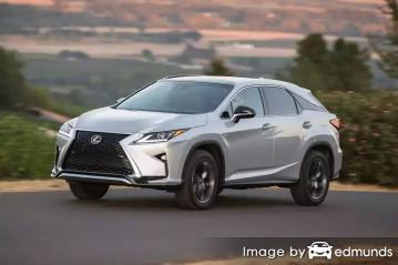 Insurance quote for Lexus RX 350 in San Jose