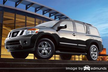Insurance quote for Nissan Armada in San Jose