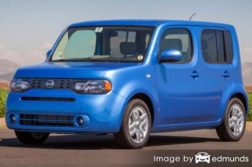 Insurance rates Nissan cube in San Jose