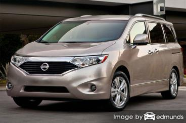 Insurance quote for Nissan Quest in San Jose