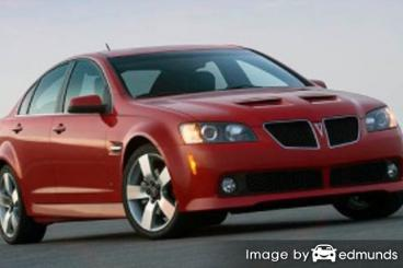 Insurance quote for Pontiac G8 in San Jose