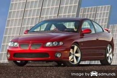 Insurance quote for Pontiac GTO in San Jose