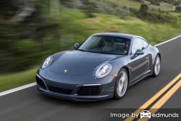 Insurance rates Porsche 911 in San Jose
