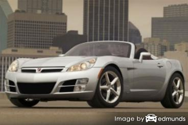 Insurance rates Saturn Sky in San Jose