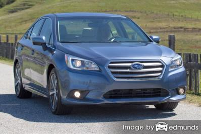 Insurance quote for Subaru Legacy in San Jose