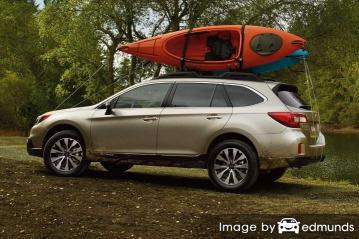 Insurance rates Subaru Outback in San Jose