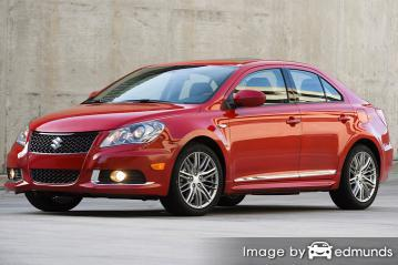 Insurance rates Suzuki Kizashi in San Jose