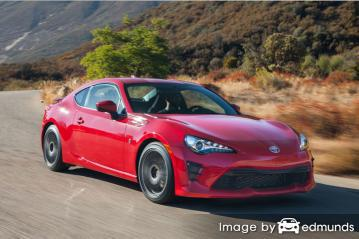 Insurance rates Toyota 86 in San Jose