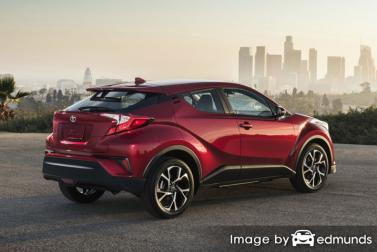 Insurance quote for Toyota C-HR in San Jose