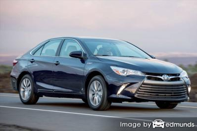 Insurance quote for Toyota Camry Hybrid in San Jose