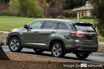 Insurance quote for Toyota Highlander Hybrid in San Jose
