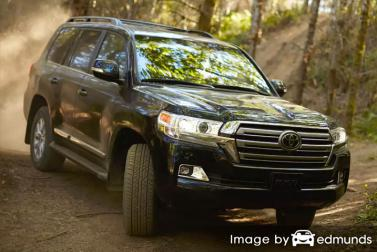 Insurance rates Toyota Land Cruiser in San Jose