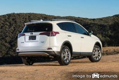 Insurance quote for Toyota Rav4 in San Jose