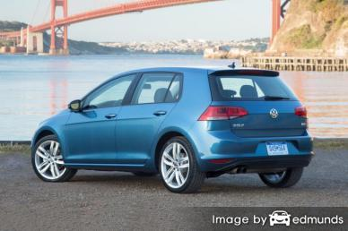 Insurance rates Volkswagen Golf in San Jose